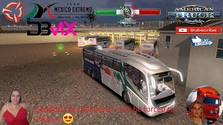American Truck Simulator (1.36)   DBMX Centrales Bus MX v1.1.2 Irizar PB Volvo by DBMX Viva Mexico map v2.5.2 Mexico Extremo v2.1.11 Project Next-Gen Graphics USA + DLC's & Mods  Support me please thanks Support me economically at the mail vanelli.isabell