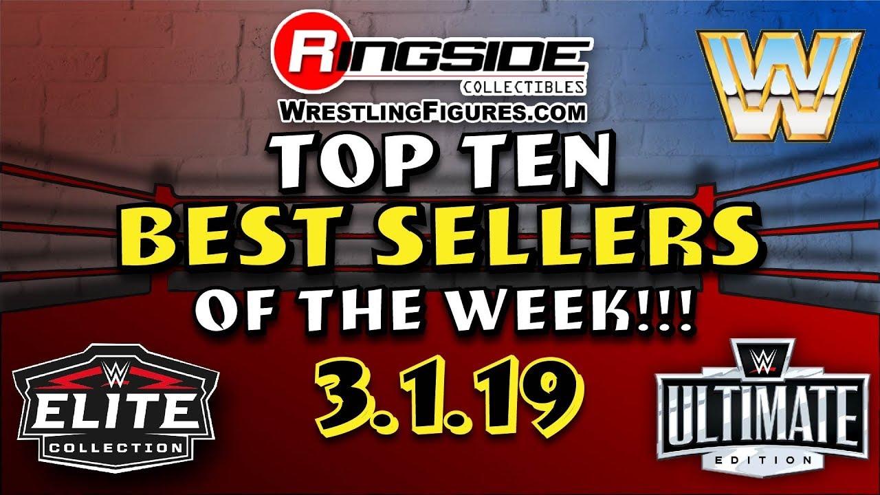 Ringside Collectibles Top Ten BEST Sellers of the week!!! (3 1 19)