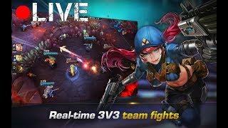 Iron League PC Live Stream ✪ Testing Heroes ✪ #1