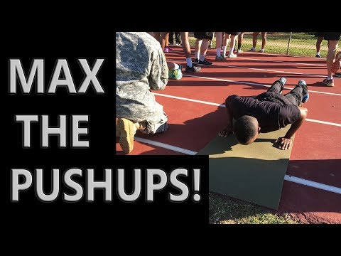 How To MAX The Push-up On the Army PT Test | 3 Exercises and Tips