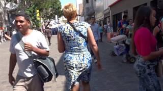 Walking in Chacaito area in Caracas, Venezuela