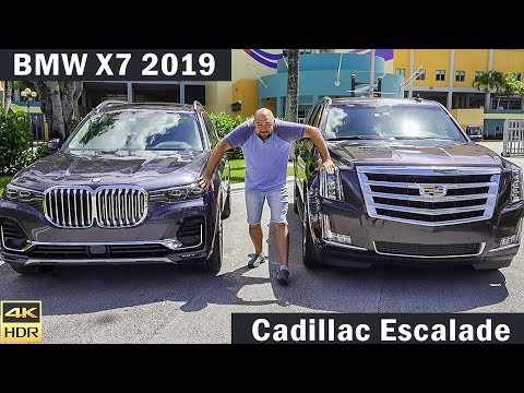 Григорий делает тест драйв бмв Х7 и Cadillac Escalade