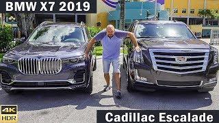 Большой тест-драйв BMW X7 | БМВ Х7 // VS // Cadillac Escalade | Кадилак Эскалейд