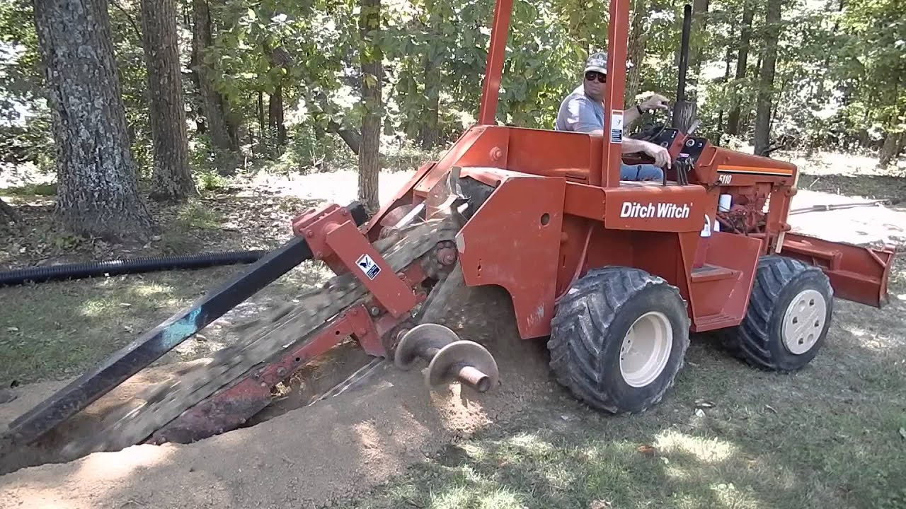 Ditch Witch 5010 Dd 5010dd Trencher Very Clean New Chain And Sprockets 5110 Wiring Diagram