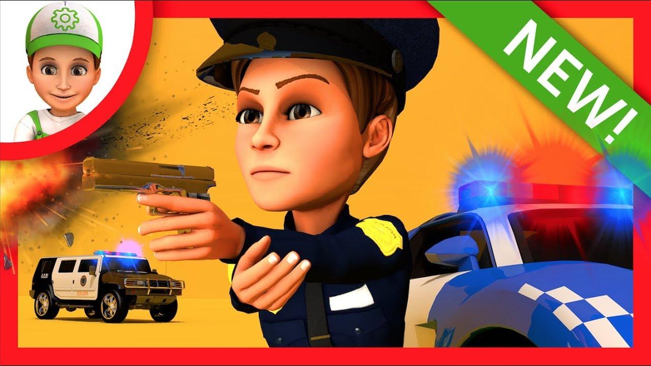 polizei f r kids kinder polizeiwagen trickfilme deutsch polizist autos f r kleinkinder polizei. Black Bedroom Furniture Sets. Home Design Ideas