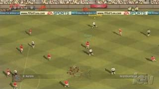 FIFA Soccer 07 PC Games Gameplay - Gameplay 1