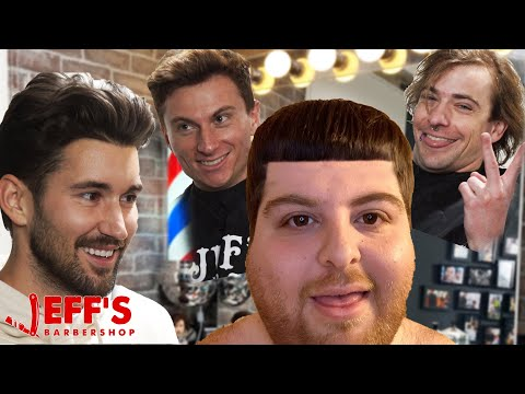 SURPRISING HIM WITH THE DUMBEST HAIRCUT EVER | JEFF'S BARBERSHOP