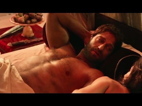 Gerard Butler shirtless  Gods Of Egypt 2016