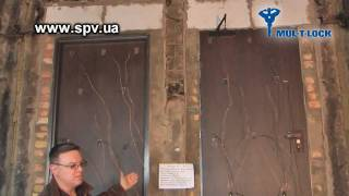 www.spv.ua испытание дверей mul-t-lock на огнестойкость