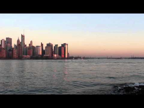 Downtown Manhattan from Jersey city waterfront