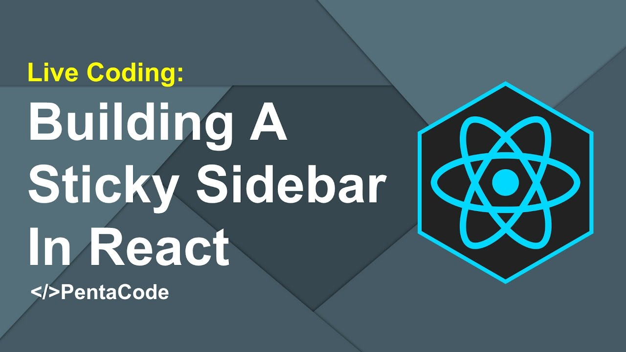 Building A Sticky Sidebar In React (1/3)