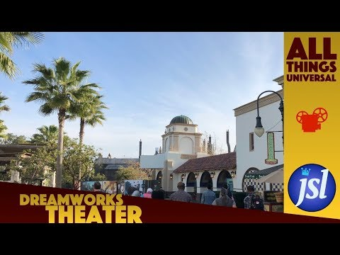 Dreamworks Theater Construction Update