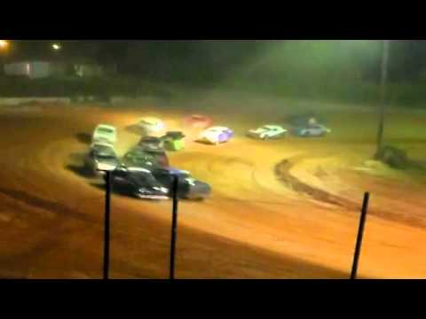 Southern Raceway Pure Stock Feature 6 21 2014.avi