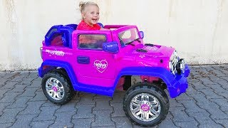 Unboxing And Assembling - 12V POWER WHEEL Ride On Pink Jeep Happy My Little Pony