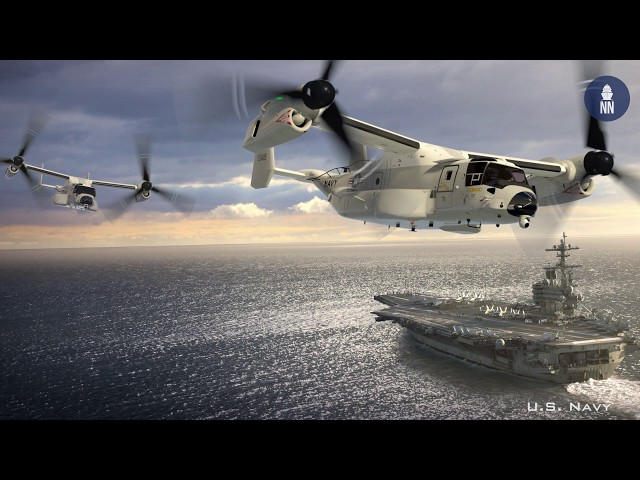 First Operational CMV-22B Osprey delivered to the U.S. Navy