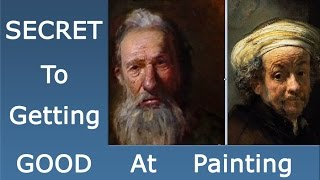 How to get really good at oil painting