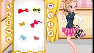 Бесплатные игры онлайн  Dress Up Games, одевалка, салон красоты, макияж, игра для девочек онлайн