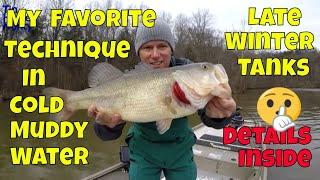 Cedar Lake Late Winter Bass Fishing Report February 23rd 2020