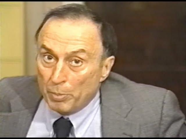 Vincent Salandria interviewed by David Starks, 1994