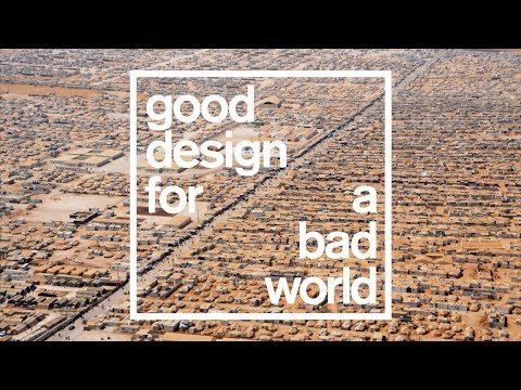 Highlights of Dezeen's talk on refugees for Good Design for a Bad World