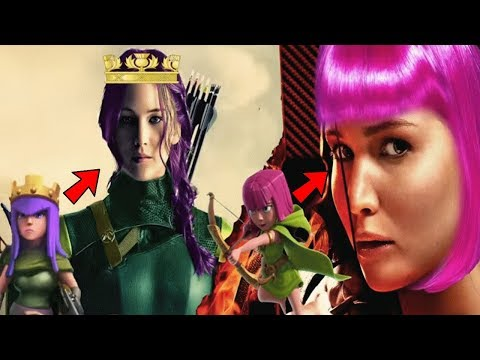 Clash Of Clans Live Action: Real Life Actors Role | COC Movie Casting Choices