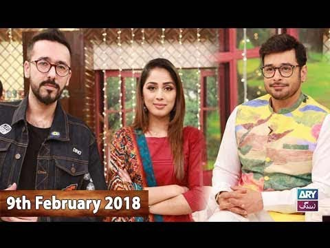 Salam Zindagi With Faysal Qureshi -  9th February 2018 - Ary Zindagi
