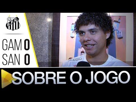 Victor Ferraz comenta empate contra o Gama pela Copa do Brasil