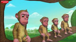 The Cap Seller and the Monkey   Bengali Moral Stories for Kids   Infobells