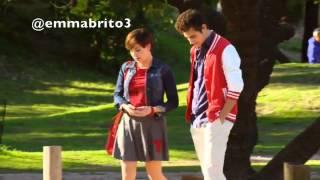 Violetta 3 - Violetta ve a Gery y Leon en el parque (03x43-44)