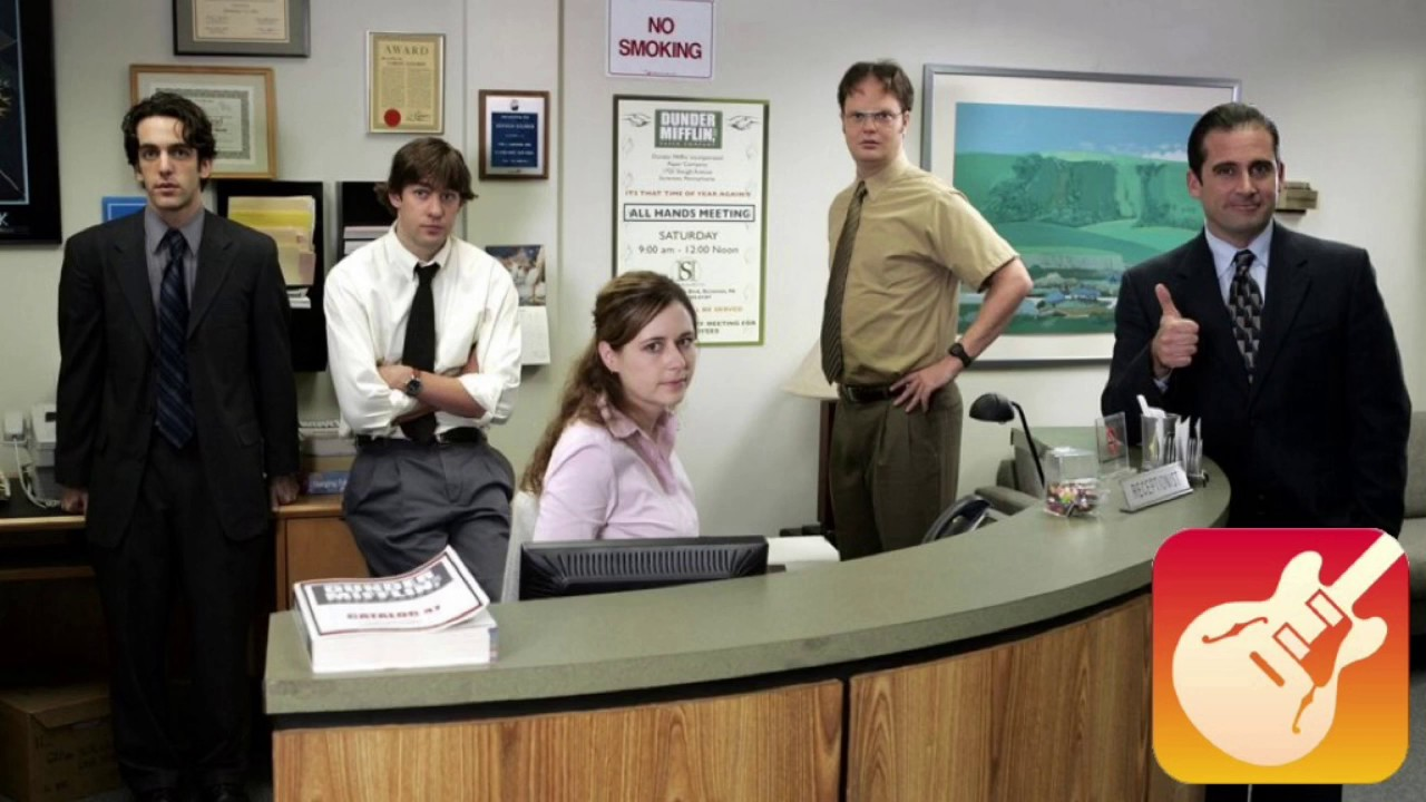 The Office Theme Song (Garage Band) - YouTube