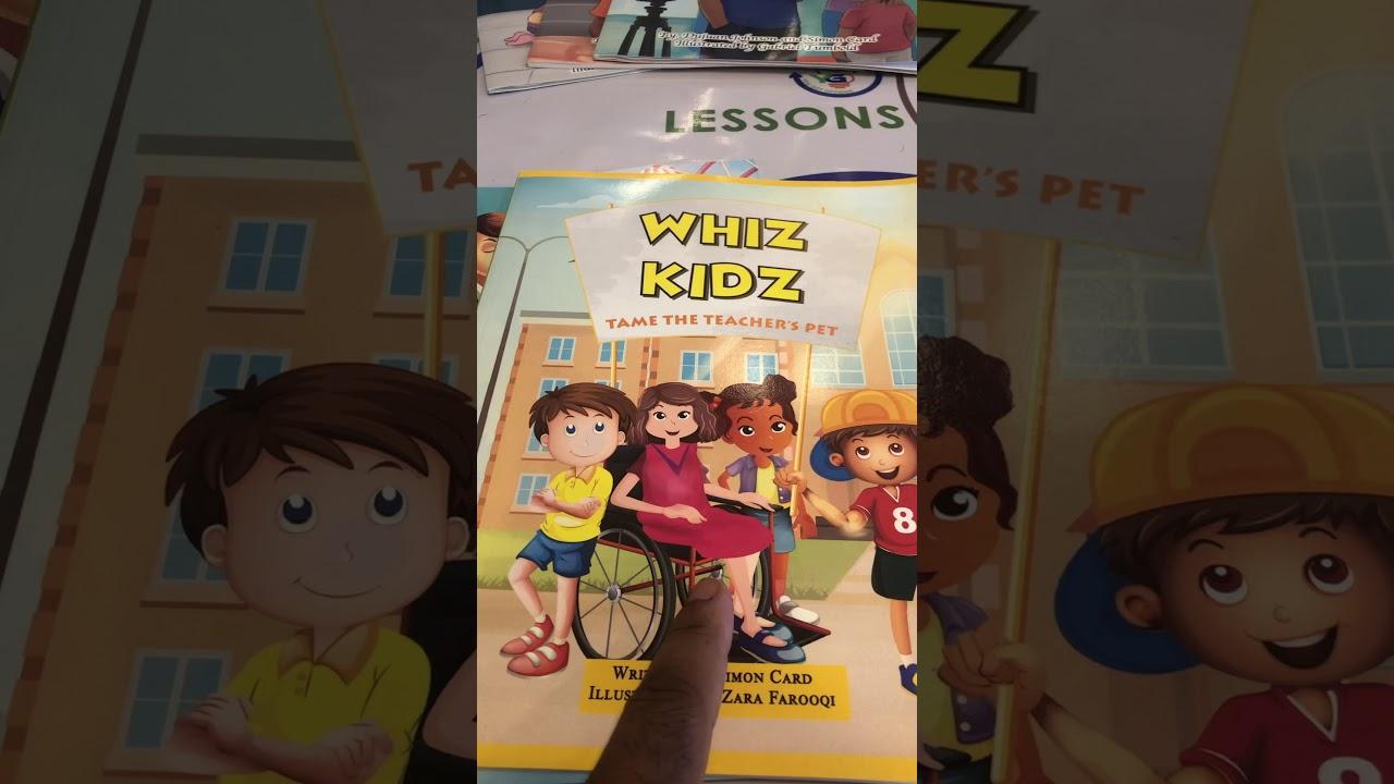 Inside a Whiz Kidz Book