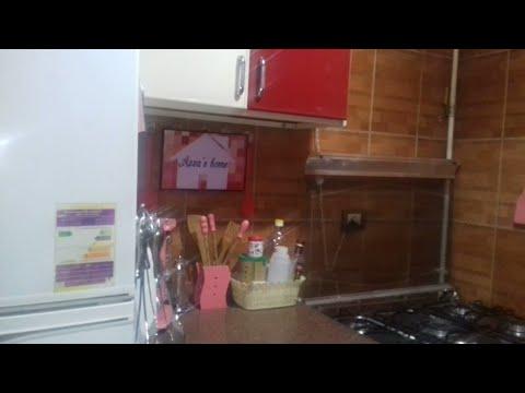 شكل المطبخ بعد التعديلات وتغير الألوان وتعليق شعار القناة 😉😉😉😉😉