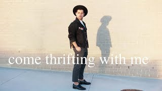 COME THRIFTING WITH ME / thrift men