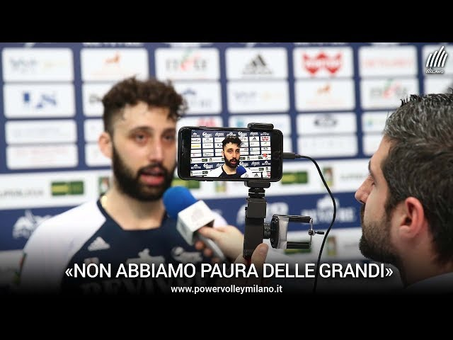 Superlega, l'intervista post Milano - Trento di Marco Izzo