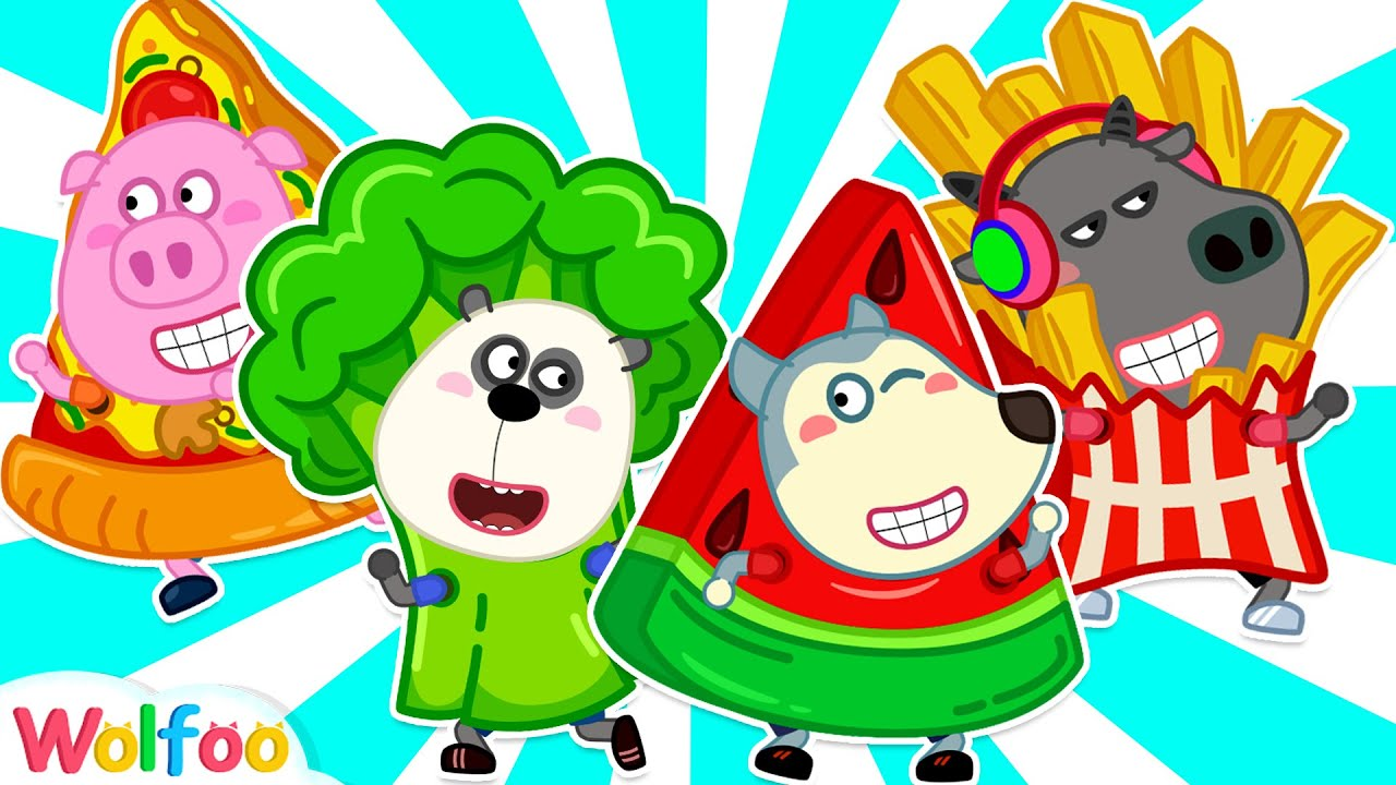 Wolfoo Dress Up Cute Costumes and Pretend Play Selling Foods | Wolfoo Family Kids Cartoon