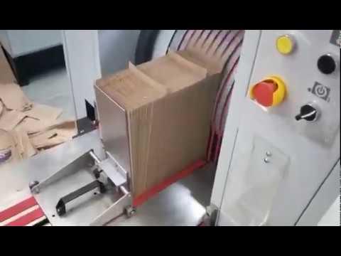 flat and satchel paper bag machine in Brazil