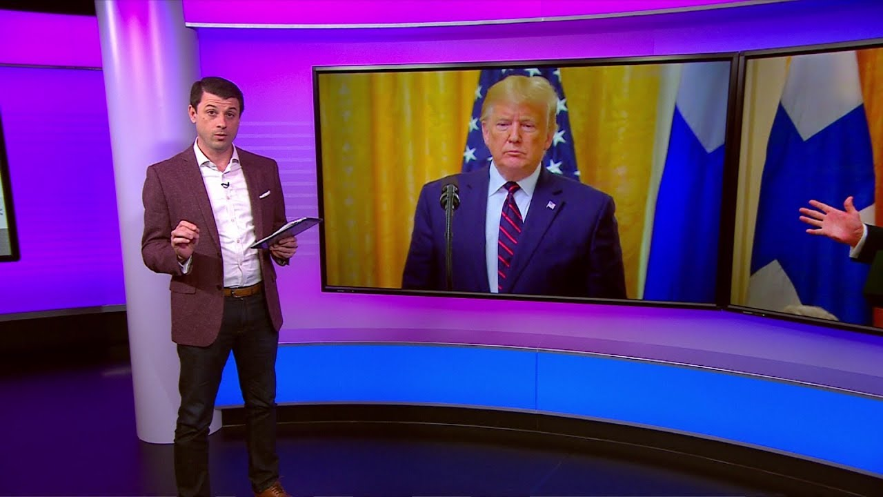 """""""لا تكن وقحا""""..ترامب يحتد على مراسل صحفي أمام رئيس فنلندا"""