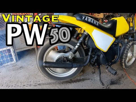 Yamaha PW50 carb clean/ test ride