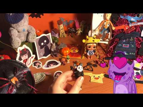 Жутко милая посылка к Хеллоуину от Даши (Prescilla)