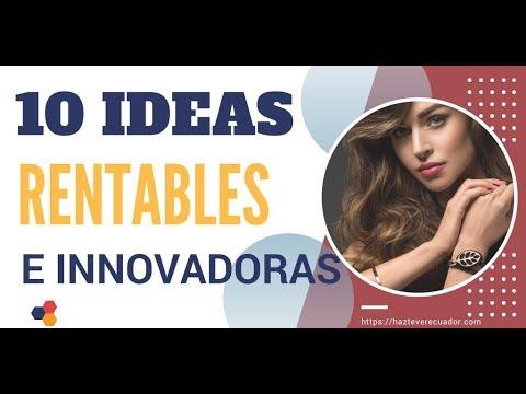 10 días de negocios muy rentables e innovadoras