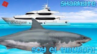 SOY EL TIBURON y el SS AMIGONES XD! | Roblox:Sharkbite | ElMylhamPlays