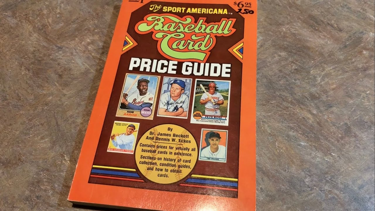 From 1979 Looking Through The First Ever Beckett Baseball Card Price Guide