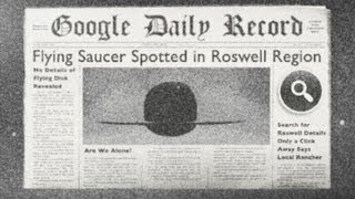 Google Doodle: Roswell UFO Point-and-Click