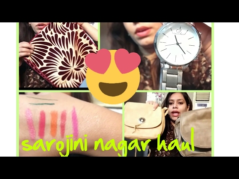 10 rs crochet top||20 rs kurti|| cosmetics 30rs||cheapest ever Sarojini nagar haul -2
