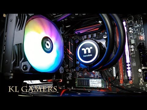intel Core i5 9400F msi B360 GAMING PLUS Thermaltake Water 3.0 120 RGB GTX 1660Ti GAMING X