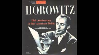 Vladimir Horowitz at Carnegie Hall - 1953