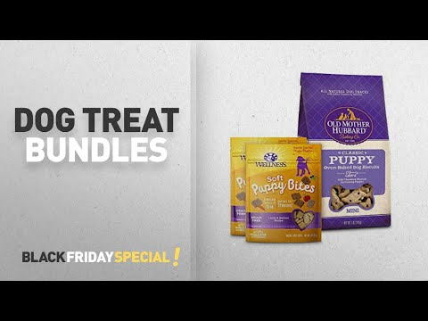 Dog Treat Bundles From Wellness, Old Mother Hubbard, & WHIMZEES | Amazon Black Friday Countdown