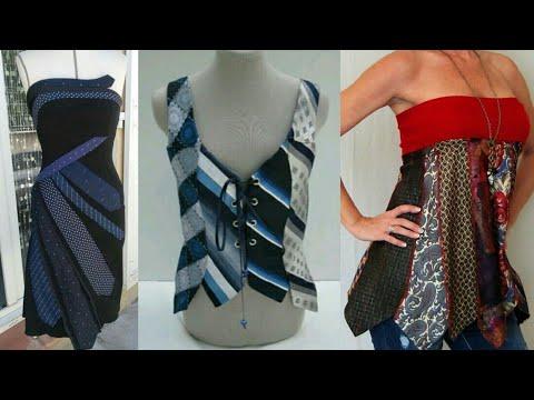 seleziona per originale nuovi stili store Tanti modi di riciclare CRAVATTE - Tie dress diy - REFASHION ...