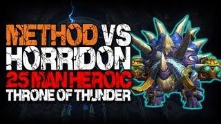 Method vs Horridon (25 Heroic)