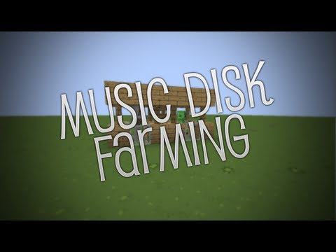 Minecraft Tutorial: How To Music Disk Farm [Easy Using Skeleton & Creepers]
